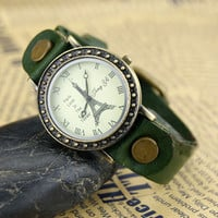 NT0047 Retro leather strap watch