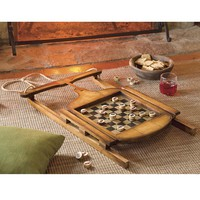 Sled Checkerboard Game - Plow & Hearth