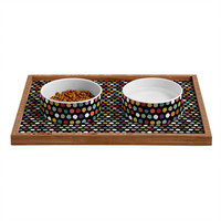 Sharon Turner Pom Pom Spot Pet Bowl and Tray