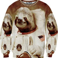 ☮♡ Astronaut Sloth Sweater ✞☆