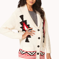 Explorer Tribal-Inspired Cardigan