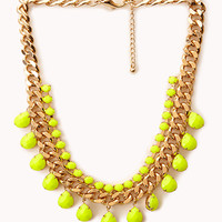 Street-Chic Curb Chain Bib