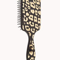 Metallic Leopard Hair Brush