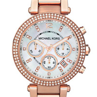 Michael Kors 'Parker' Chronograph Bracelet Watch, 39mm | Nordstrom