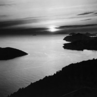 Sunset Photographic Print by Brett Weston at Art.com