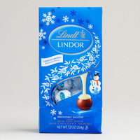 Limited Edition Lindt Holiday Snowman Truffles Bag