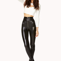 Striking High-Waisted Leggings