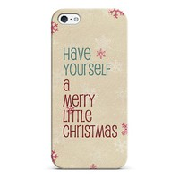 have yourself a merry little Christmas iPhone & iPod case by Sylvia | Casetagram