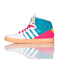 adidas Sneakers White COURT ATTITUDE SNEAKER - Sneakers and Shoes - Man Alive