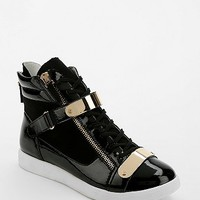 Report Latvia Metal Strap High-Top Sneaker - Urban Outfitters