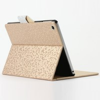 Glitter Geo Pattern Carrying Case For Ipad Air