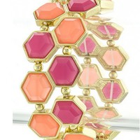 Hexagon Bracelet - Kely Clothing