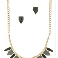 Chevron Necklace - Kely Clothing