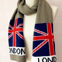 UK Flag Scarf