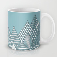 Winterly Forest Mug by Anita Ivancenko