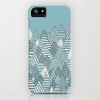 Winterly Forest iPhone & iPod Case by Anita Ivancenko