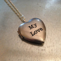 My Love Locket Necklace