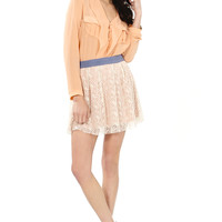 Peachy Prim Skirt