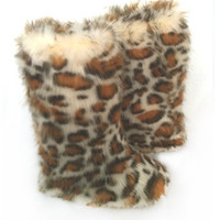 Gold Cheetah Print – Fluffy Wuffies Classic Tall Boots