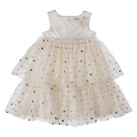 Just One You® made by Carter's Infant Toddler Girls' Dress - Gold