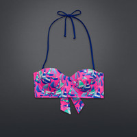 Longline Bandeau Swim Top