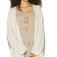 Cocoon Open Cardi | Wet Seal