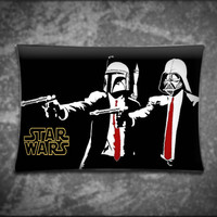 Unique Pillow Cover - Darth Vader Star Wars Pulp Fiction - Suitable For Any Age, Soft, Comfortable, Stylish