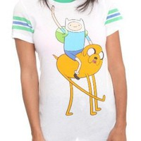Amazon.com: Adventure Time Hangin' Girls T-Shirt: Clothing