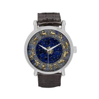Zodiac Wheel Wristwatch