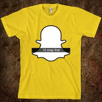 I'D SNAP THAT GHOST | SNAPSHIRTS