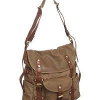 Amazon.com: Vitalio Vera Extra-Large ''Virginia'' Crossbody Messenger Bag: Clothing