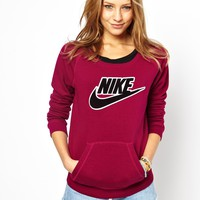 Nike Front Pocket Crew Neck Sweatshirt