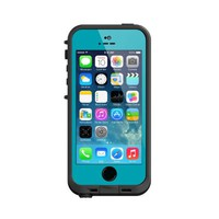 Lifeproof iPhone 5S Fre Case-Teal/Black - Carrying Case - Retail Packaging - Teal/Black