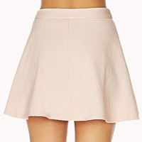 Femme Textured Swiss Dot Skirt