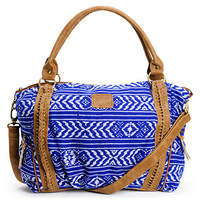 Element Girls Stella Blue Aztec Print Tote Bag