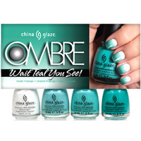China Glaze Ombre - Wait Teal You See! :: Nail Polish Sets :: Sets :: Cherry Culture