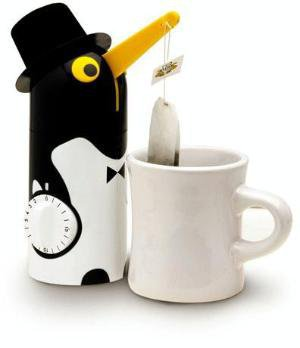 Tea-Boy Penguin Tea Timer: Kitchen & Dining