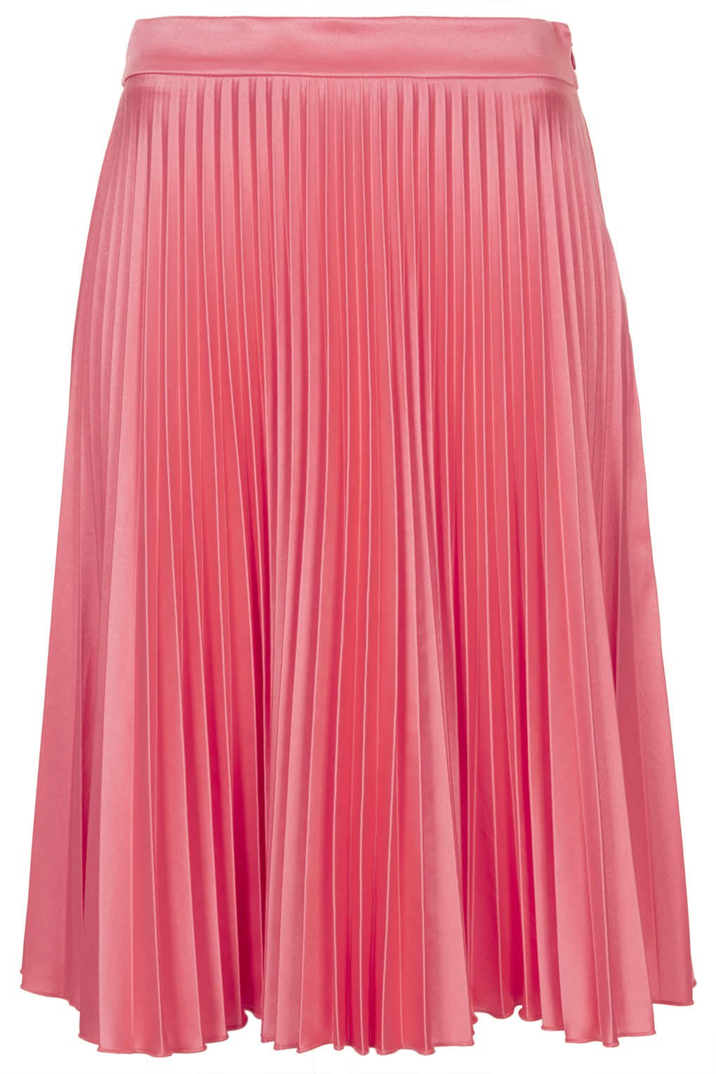 pink sunray pleat skirt from topshop on wanelo