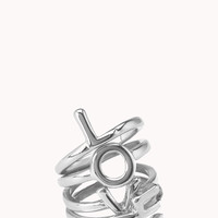 Love Is All You Need Midi Ring Set