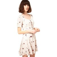 Bqueen Sweetheart Dress in Fruit Print BY019E