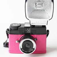 Mini Diana & Flash Set En Rose By Lomography