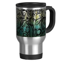 Swirl and Curl Coffee Mugs