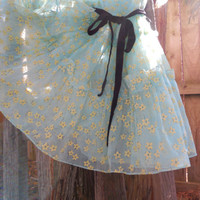Crinoline Dress Ruffled Lovely Little Girl's Vintage 50's California