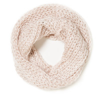 Pink Sequins Infinity Scarf