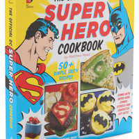 The Official DC Superhero Cookbook | Mod Retro Vintage Books | ModCloth.com