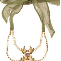DSQUARED2 bejeweled necklace