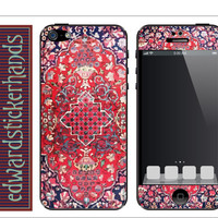 Red Rug iPhone Skin