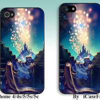 Disney Tangled--iPhone5 Case, iPhone 4 case, iphone 4s case,iPhone 5C Case, iPhone5s Case, iPhone Case, iphone cover,phone case