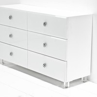 www.roomservicestore.com - Rocker Dresser in White