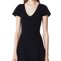 THEORY Anderz Dress in Evian Stretch Wool Blend